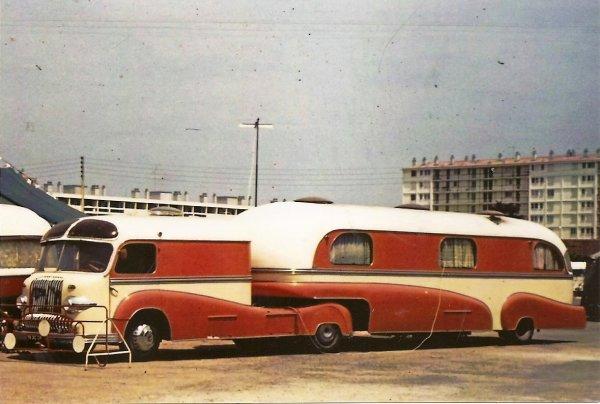 Cirque francki1961 caravane habitation